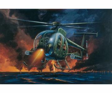 AH-6 Night Fox · IT 0017 ·  Italeri · 1:72