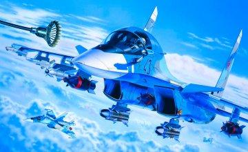 Sukhoi SU-34/32 · IT 0059 ·  Italeri · 1:72