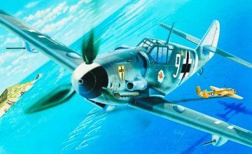 Messerschmitt Bf 109 G-6 · IT 0063 ·  Italeri · 1:72