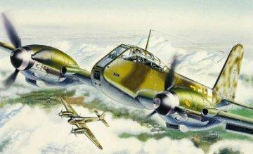 Messerschmitt Me 410 Hornisse · IT 0074 ·  Italeri · 1:72