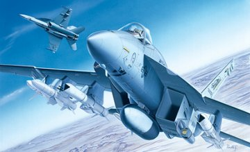 F/A-18E Super Hornet · IT 0083 ·  Italeri · 1:72