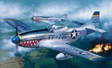 F-51D Mustang · IT 0086 ·  Italeri · 1:72