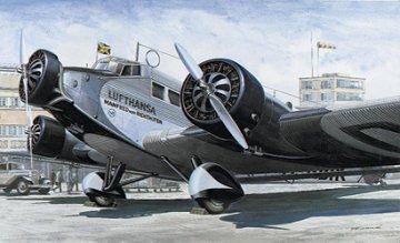 Junkers JU 52 Lufthansa · IT 0150 ·  Italeri · 1:72