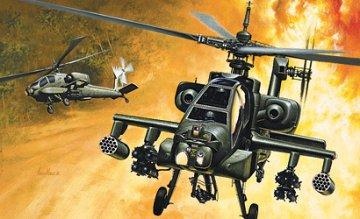 Hughes AH-64 Apache · IT 0159 ·  Italeri · 1:72
