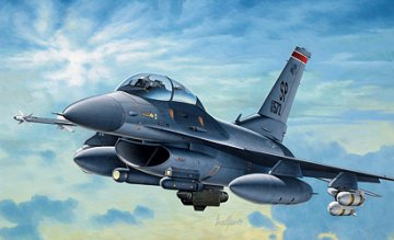 F-16 C/D NIght Falcon · IT 0188 ·  Italeri · 1:72