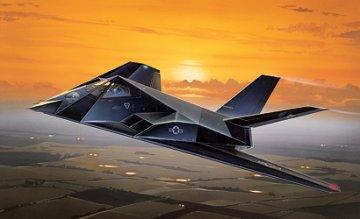 F-117A STEALTH NIGHTHAWK · IT 0189 ·  Italeri · 1:72