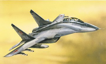 MiG-29UB Fulcrum · IT 0192 ·  Italeri · 1:72