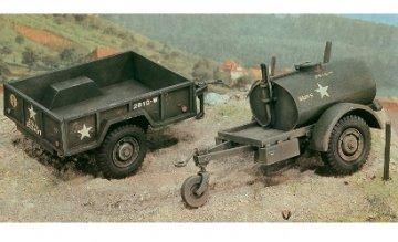 Gal.S TankTrailer+M101 KargoTrailer · IT 0229 ·  Italeri · 1:35