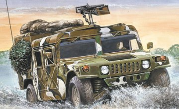 M998 HMMWV Hummer · IT 0249 ·  Italeri · 1:35
