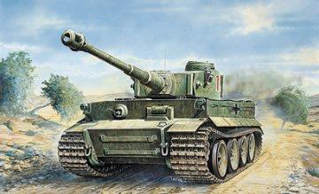 Tiger I, Ausf. E/H1 · IT 0286 ·  Italeri · 1:35
