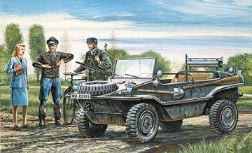 VW-Schwimmwagen Typ 186 · IT 0313 ·  Italeri · 1:35