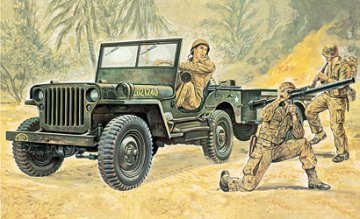 Willys Jeep · IT 0314 ·  Italeri · 1:35