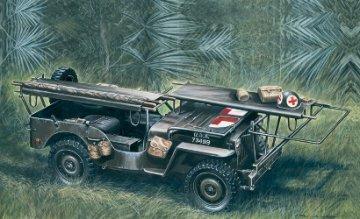 1/4 Ton 4x4 Krankenwagen Jeep · IT 0326 ·  Italeri · 1:35