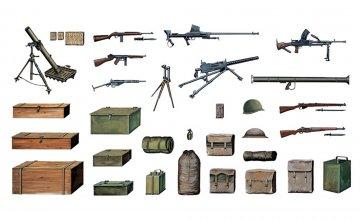 Accessories WWII · IT 0407 ·  Italeri · 1:35