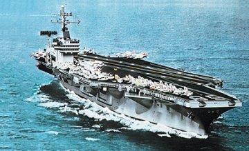 USS Nimitz · IT 0503 ·  Italeri · 1:720