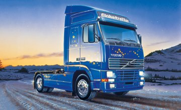 Volvo FH 16 Globetrotter · IT 0735 ·  Italeri · 1:24