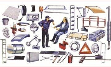 Truck Shop Accessories · IT 0764 ·  Italeri · 1:24