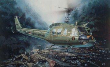 UH-1D Slick · IT 0849 ·  Italeri · 1:48