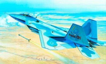 F-22 Raptor · IT 0850 ·  Italeri · 1:48