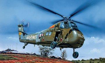 UH-34 J Sea Horse · IT 1066 ·  Italeri · 1:72