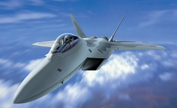 F-22 Raptor · IT 1207 ·  Italeri · 1:72
