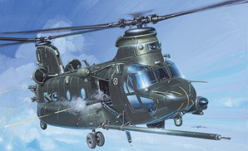 MH-47 E SOA Chinook · IT 1218 ·  Italeri · 1:72