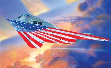 F-117A Nighthawk ´Stars and Stripes´ · IT 1264 ·  Italeri · 1:72