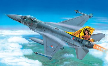 F-16 Fighting Falcon · IT 1271 ·  Italeri · 1:72
