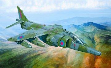 Harrier GR.3 `Falkland` · IT 1278 ·  Italeri · 1:72