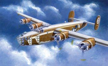 B-24D Liberator Assembly Ship · IT 1285 ·  Italeri · 1:72