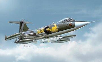 F-104 G Recce · IT 1296 ·  Italeri · 1:72