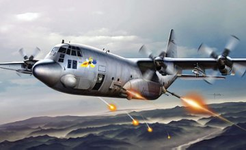 AC-130H Spectre · IT 1310 ·  Italeri · 1:72