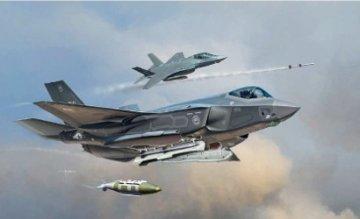 F-35A Lightning II · IT 1331 ·  Italeri · 1:72