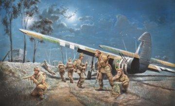 AS.51 HORSA Mk.I/II&Brit.Fallschirm · IT 1356 ·  Italeri · 1:72