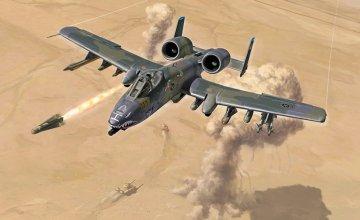 A-10 Thunderbolt Gulf War · IT 1376 ·  Italeri · 1:72