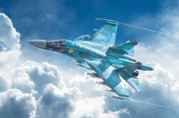 SUKHOI SU-34 Fullback · IT 1379 ·  Italeri · 1:72