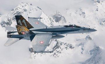 F/A-18 Hornet Tiger Meet 2016 · IT 1394 ·  Italeri · 1:72