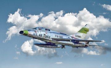F-100F Super Sabre · IT 1398 ·  Italeri · 1:72