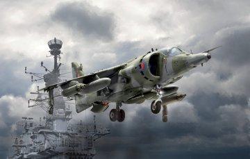 Harrier GR.3 Falklands War · IT 1401 ·  Italeri · 1:72