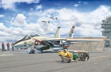F-14A Tomcat Recessed Line Panels · IT 1414 ·  Italeri · 1:72