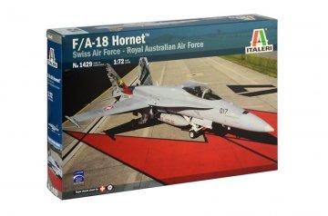 F/A-18 Hornet Swiss AirForce - RAAF · IT 1429 ·  Italeri · 1:72