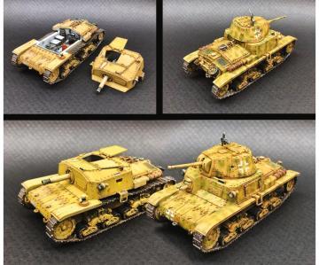 It. Panzer u. Semovente Set · IT 15768 ·  Italeri · 1:56