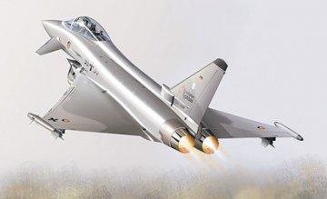 EF-2000 Typhoon Single Seater · IT 2610 ·  Italeri · 1:48