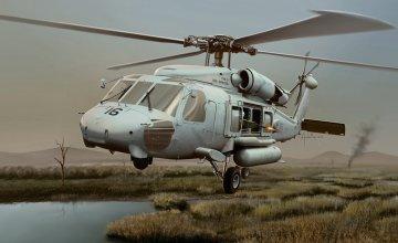HH-60H Seahawk · IT 2680 ·  Italeri · 1:48