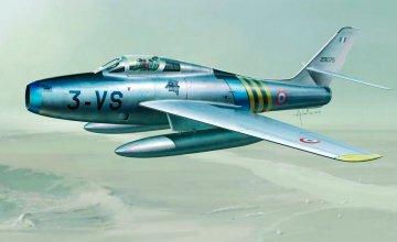 F-84F Thunderstreak · IT 2682 ·  Italeri · 1:48