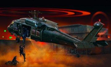 UH 60A Black Hawk · IT 2706 ·  Italeri · 1:48