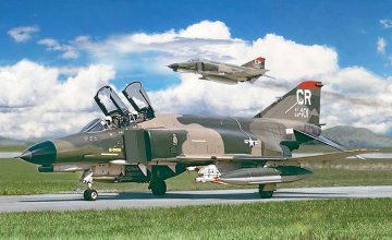 F-4E Phantom II · IT 2770 ·  Italeri · 1:48