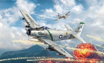 A-1H Skyraider · IT 2788 ·  Italeri · 1:48