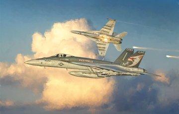 F/A-18E Super Hornet · IT 2791 ·  Italeri · 1:48