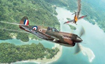 P-40E/K Kittyhawk · IT 2795 ·  Italeri · 1:48